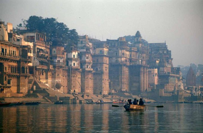 Ganges River view from Varanasi