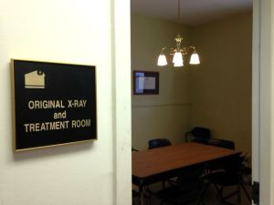 At the Church Health Center, we're all about repurposing things. Long before the old Sears Crosstown was reimagined as Crosstown Concourse, our old x-ray room was transformed into a break room!